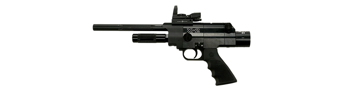 Pneu-Dart X-2 in Black